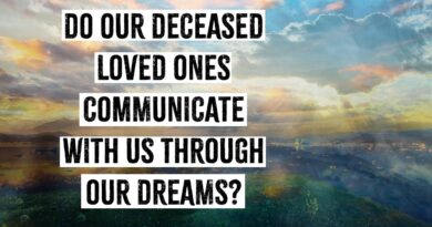 bad dreams after death of loved one